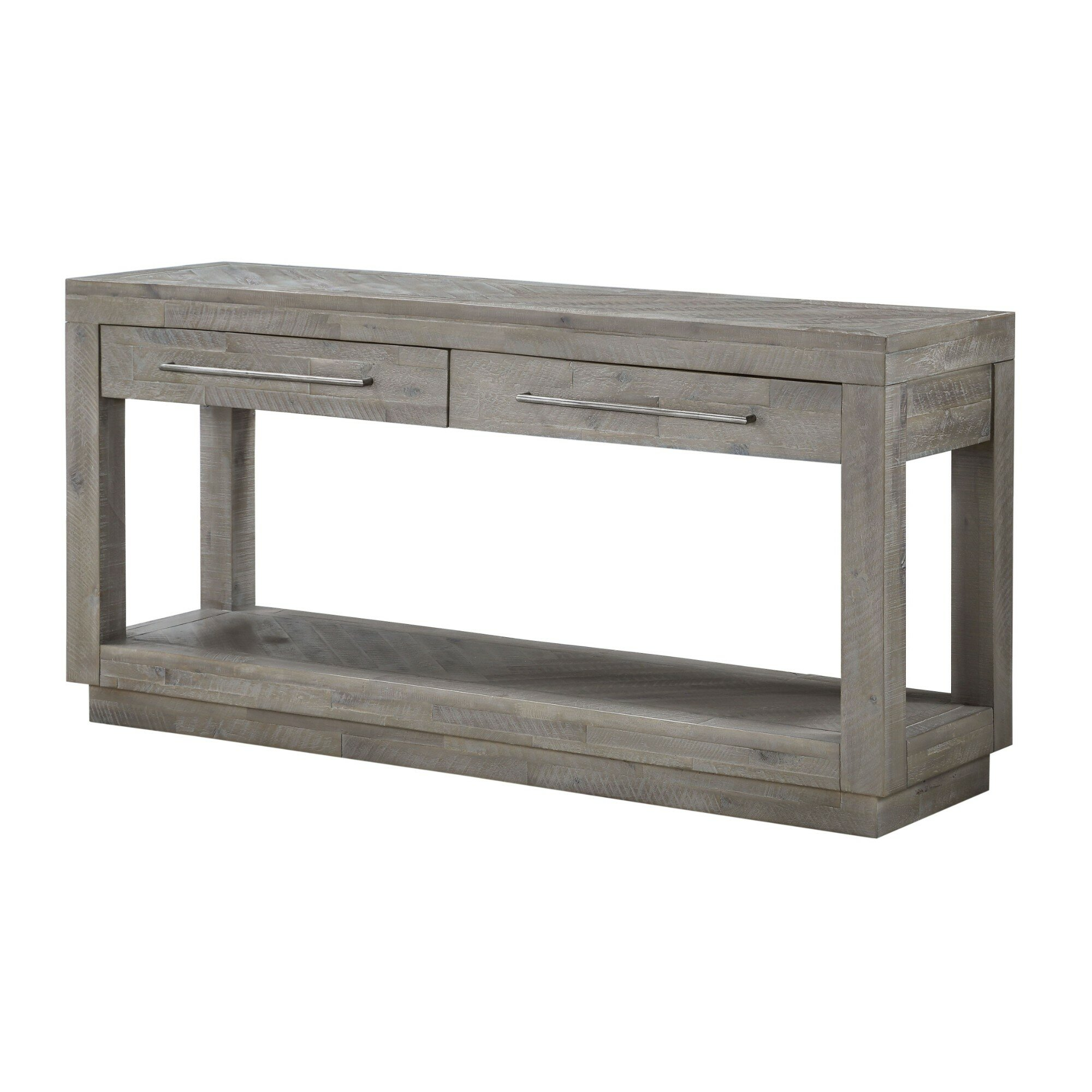 Superieur Mayview 2 Drawer And Bottom Shelf Console Table
