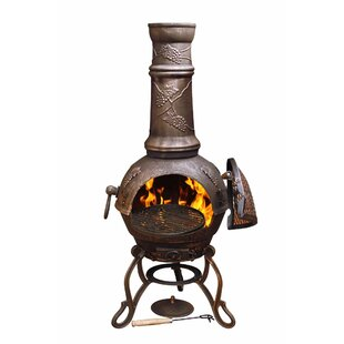 Luman Cast Iron Chiminea By Brayden Studio