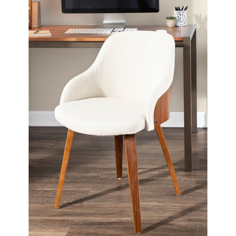 Brighton+Mid Century+Modern+Upholstered+Dining+Chair
