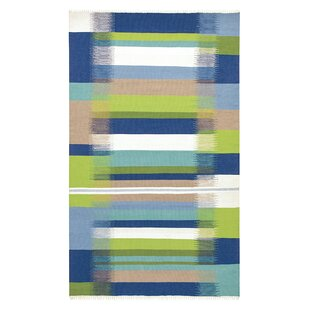 Kokomo Hand-Woven Blue Indoor/Outdoor Area Rug