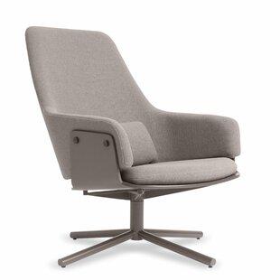 Blu Dot Lock Swivel Lounge Chair