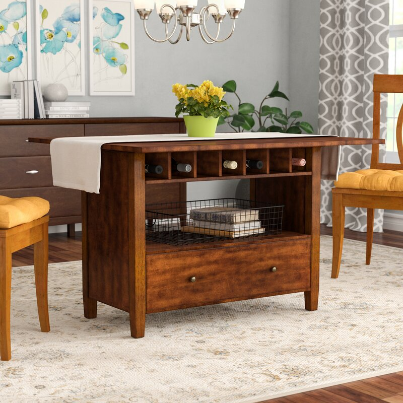 Dining Table With Leaf: Alcott Hill Emestine Drop Leaf Dining Table & Reviews