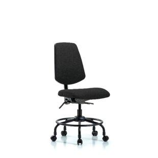 Symple Stuff Lucien Round Tube Base Desk Height Ergonomic Office Chair