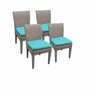 Monterey Patio Dining Chair With Cushion (Set Of 4) by TK Classics Today Sale Only