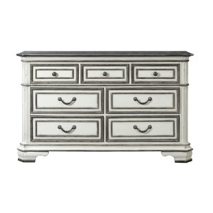 Price comparison Newsom 7 Drawer Double Dresser by House of Hampton