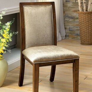 Zeigler Upholstered Dining Chair (Set of 2) by Loon Peak