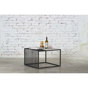 Reyansh Iron Marble Top Coffee Table by 17 Stories