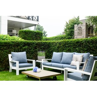 Croyd Garden Sofa With Cushions By Sol 72 Outdoor