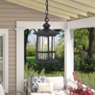 Affordable Wheaton 1-Light Outdoor Hanging Lantern By Three Posts
