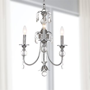 House of Hampton Kroll 3 Light Candle Style Chandelier