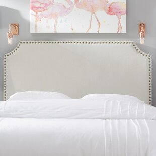 Find for Hillary Upholstered Panel Headboard by Three Posts