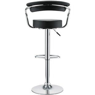 Diner Adjustable Height Swivel Bar Stool ..