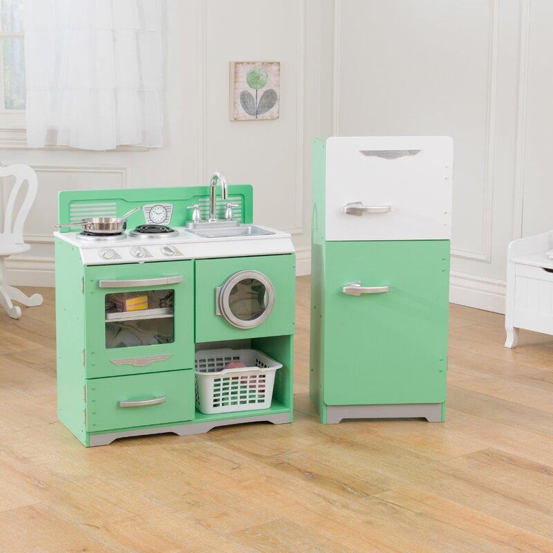 KidKraft Homestyle Kitchen Set & Reviews   Wayfair