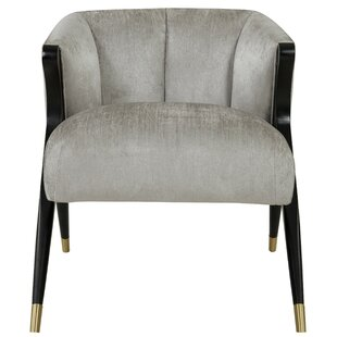 Azariah Fabric Armchair by Everly Quinn