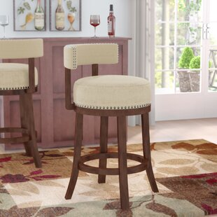 Norden Contemporary 30 Swivel Bar Stool (Set of 2)