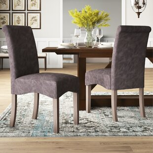 Marla Upholstered Dining Chair Set of 2 by Mistana