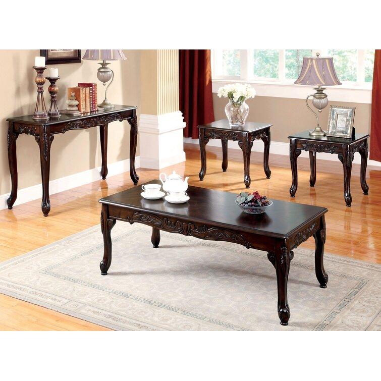 Astoria Grand Walther 4 Piece Coffee Table Set & Reviews | Wayfair