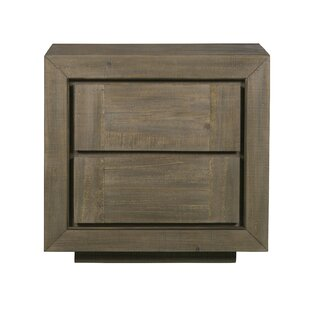 Aahil 2 Drawer Nightstand by Foundry Select