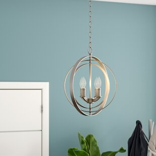 Affordable Price Morganti 4-Light Chandelier By Brayden Studio