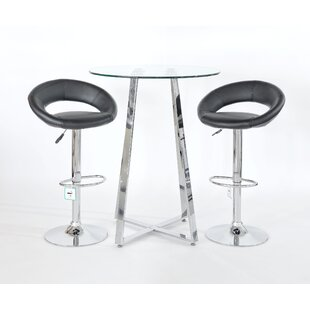 Sharen 3 Piece Pub Table Set By Metro Lane