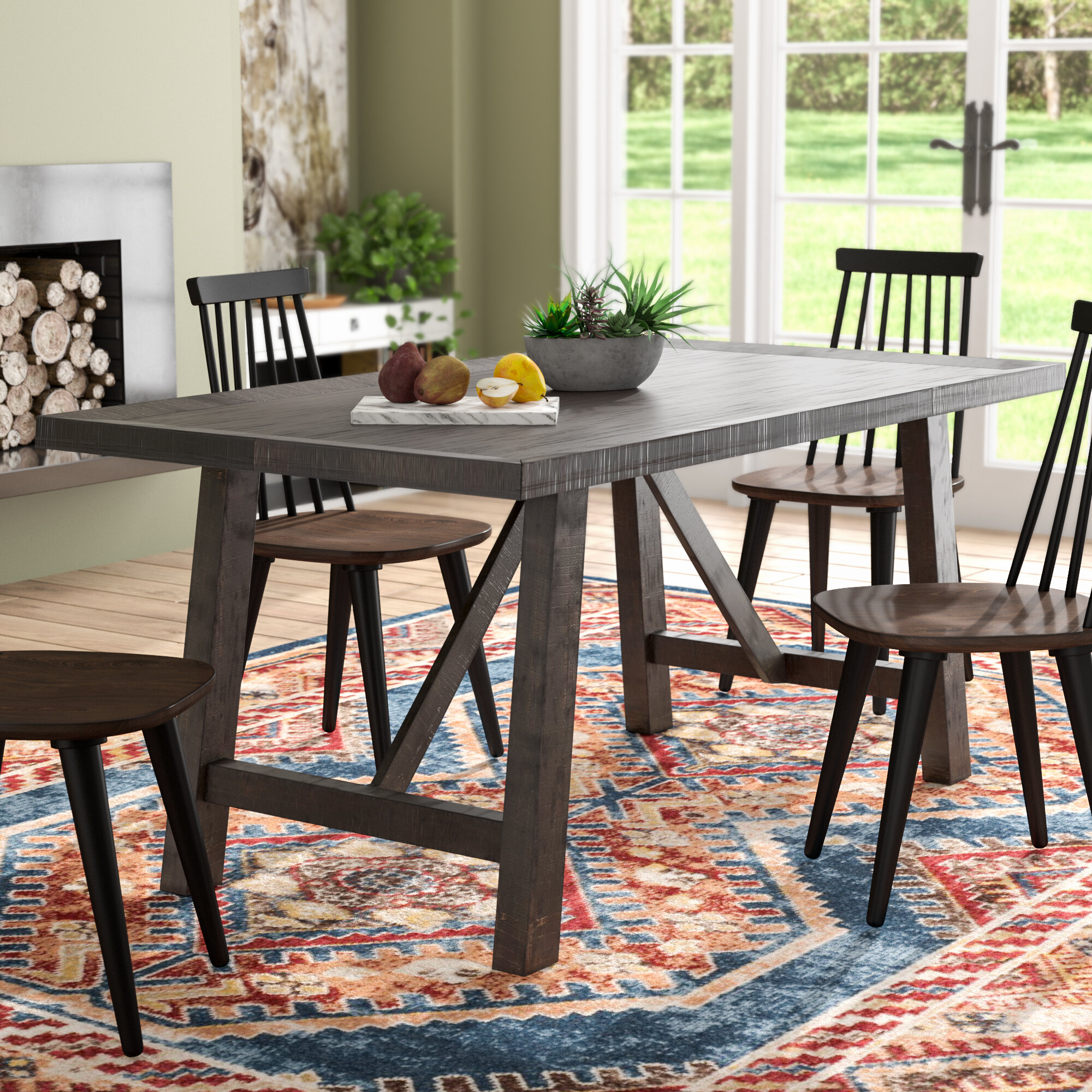 Marvelous 36 X 48 Dining Table Wayfair Home Interior And Landscaping Pimpapssignezvosmurscom