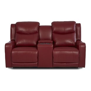 Theodore Reclining Sofa with Headrest and Lumbar Support by Red Barrel Studio