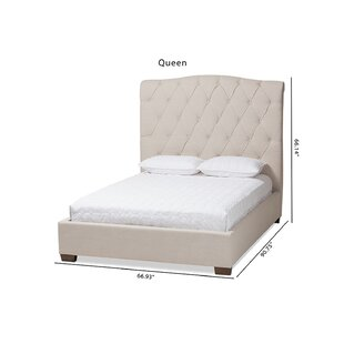 Everly Quinn Lynmouth Upholstered Platform Bed