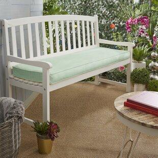 Sunset Indoor/Outdoor Sunbrella Bench Cushion