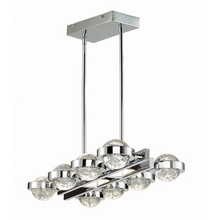 Eastvale Linear 8 Light Led Kitchen Island Pendant
