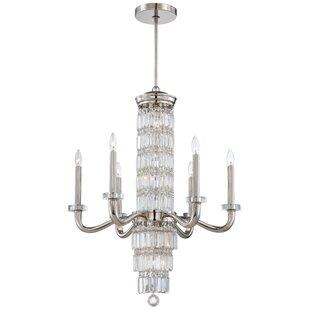 Metropolitan by Minka Crysalyn Falls 12-Light Candle Style Chandelier