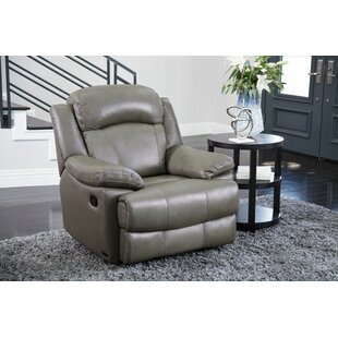 Vogler Leather Manual Recliner
