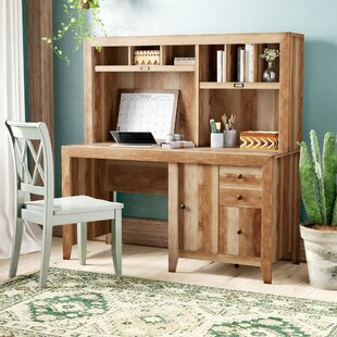 Riddleville Armoire Desk With Hutch by Greyleigh Modern