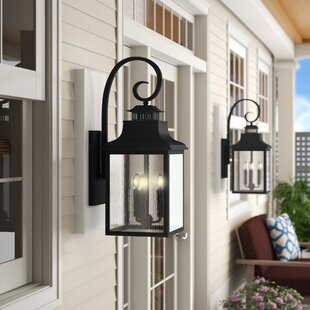 Seymour 3-Light Outdoor Wall Lantern