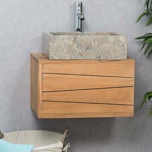 Gabbert 50mm Wall Hung Single Vanity Unit By Beachcrest Home