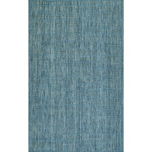 Nepal Hand-Loomed Denim Area Rug