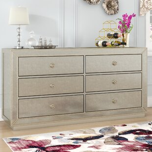Willa Arlo Interiors Rogerson 6 Drawer Double Dresser