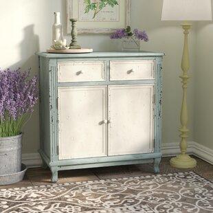 Lark Manor Prades 2 Drawer and 2 Door Accent Cabinet