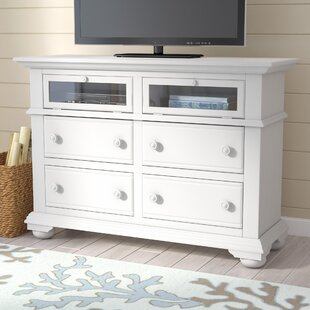 Lark Manor Montcerf 4 Drawer Media Dresser