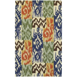Atrium Ikat Indoor/Outdoor Area Rug