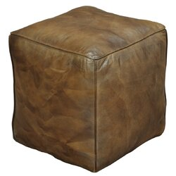 Nice Sunday Afternoon Leather Ottoman