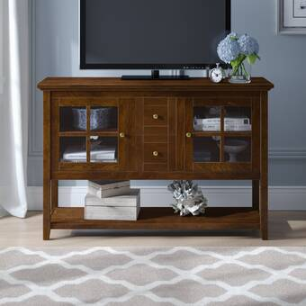 Alcott Hill Oyama Solid Wood Tv Stand For Tvs Up To 50 Reviews Wayfair
