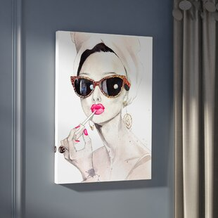 U0027Audrey Hepburnu0027 Painting Print On Canvas
