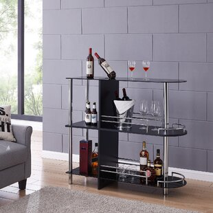 Darrel Bar with Wine Storage by Orren Ellis
