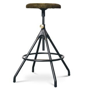 Dhrub Adjustable Height Bar Stool by 17 Stories
