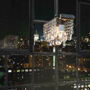 17 Stories Everardo 3-Light Crystal Chandelier