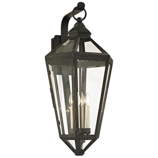 Reviews Dhavale 4-Light Outdoor Wall Lantern By Darby Home Co