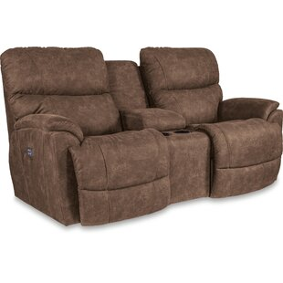 Trouper Reclining Loveseat with Console