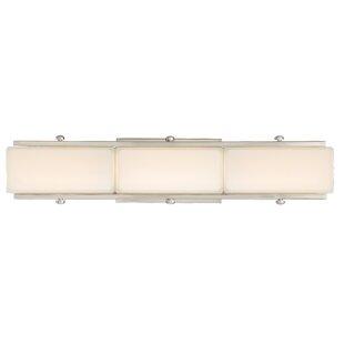 Kucharski 3-Light LED Bath Bar by Charlton Home