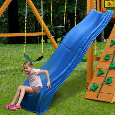 Swing-n-Slide Olympus Wave Slide Colour: Blue