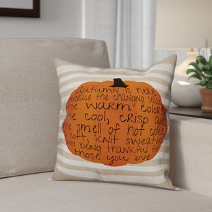 Embrace Autumn Throw Pillow